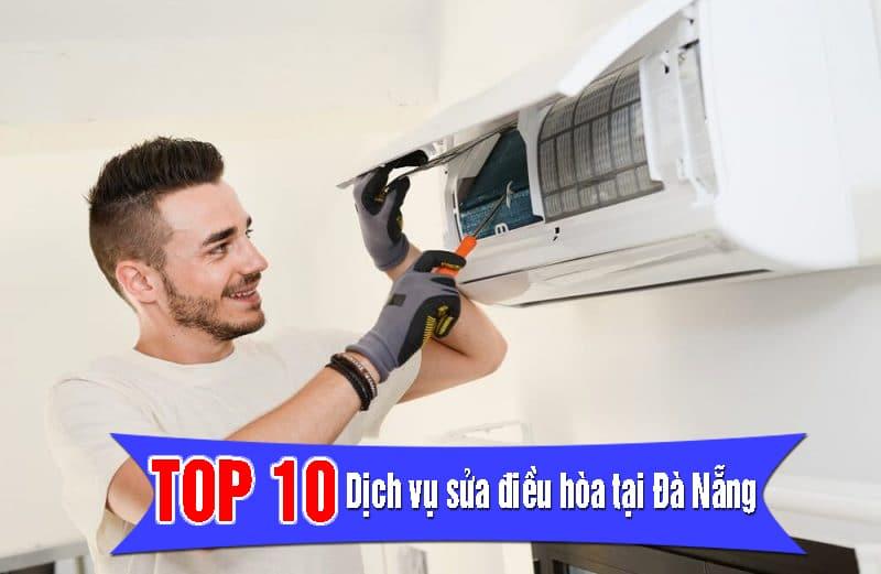 Top 10 dịch vụ sửa điều hòa