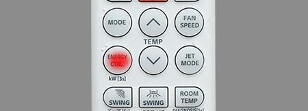 Chức năng kiểm soát điều khiển điều hòa LG