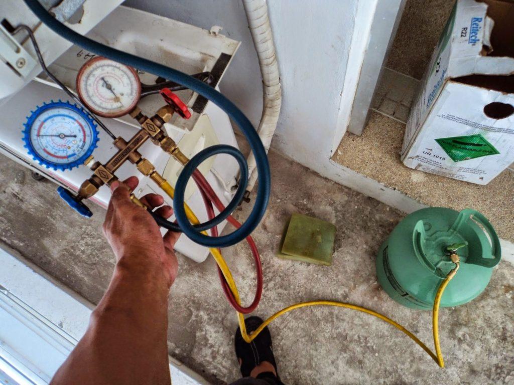 Cách đo áp suất gas điều hòa