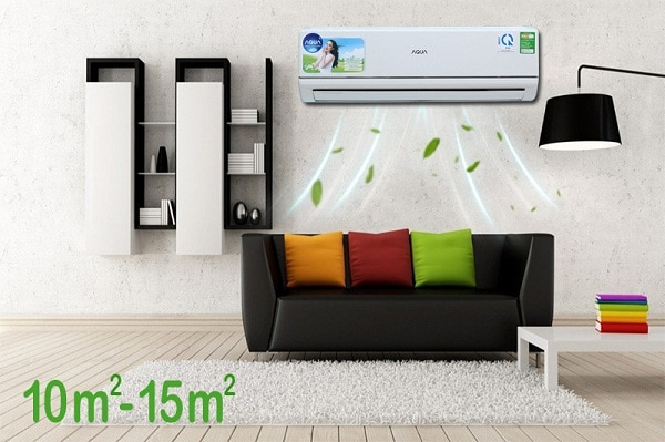 Máy lạnh phù hợp diện tích căn phòng