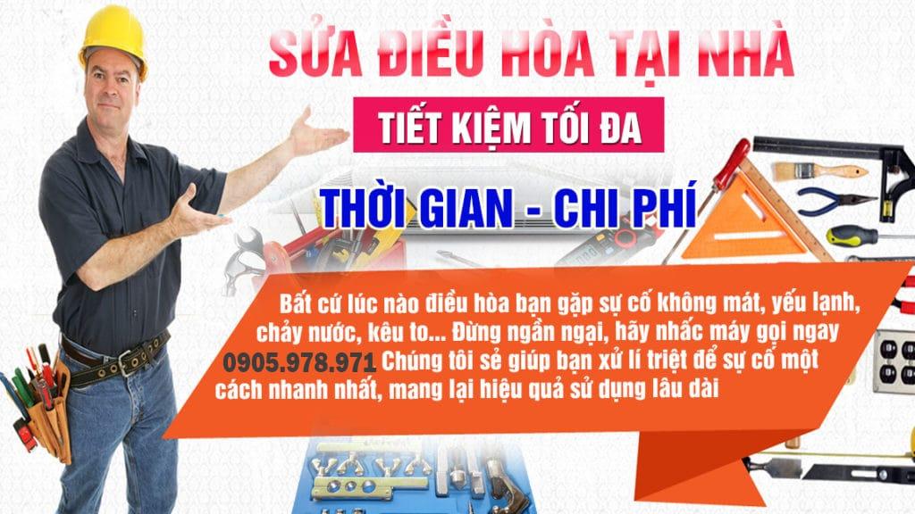 Sửa điều hòa tại nhà Đà Nẵng giá rẻ, chuyên nghiệp
