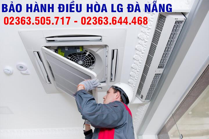 Trung tâm bảo hành, sửa chữa điều hòa LG Đà Nẵng