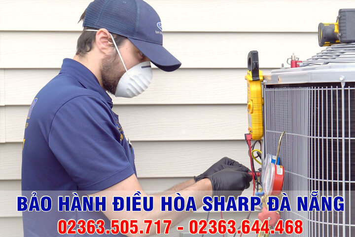 Trung tâm bảo hành, sửa chữa điều hòa Sharp Đà Nẵng