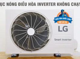 Cục nóng điều hòa inverter không chạy